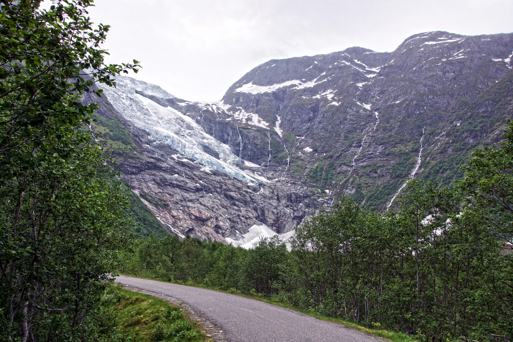 glacier en Norvège