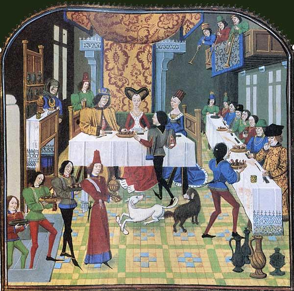 Un mariage à l'époque médiévale, oui et non