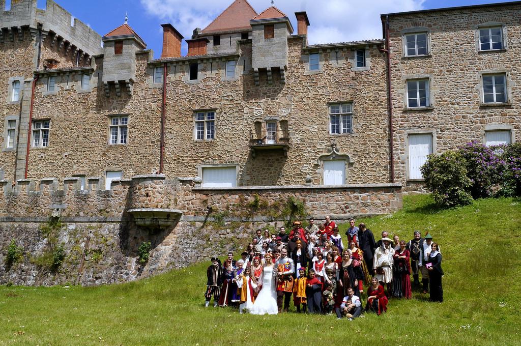 Le mariage médiéval historique de Mme Milady