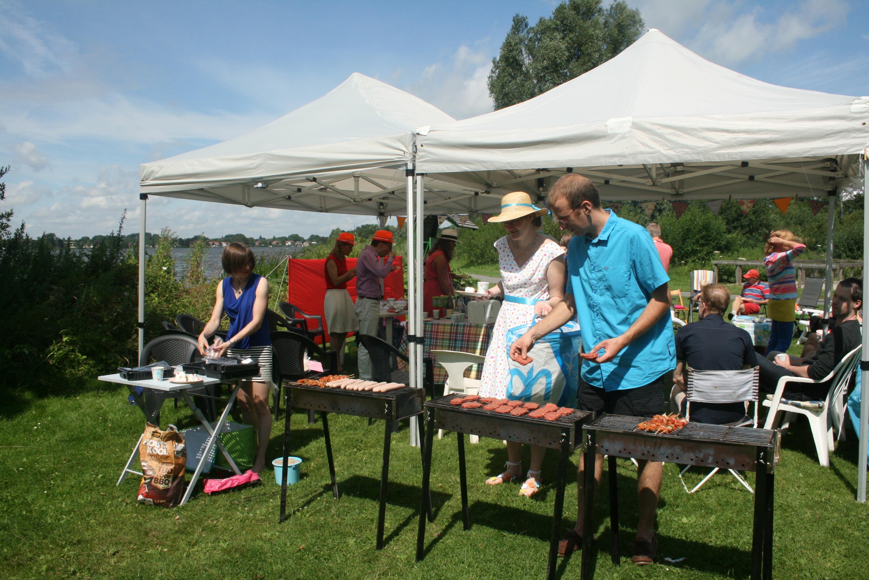 Mon mariage civil aux Pays-Bas : notre déjeuner au bord du lac