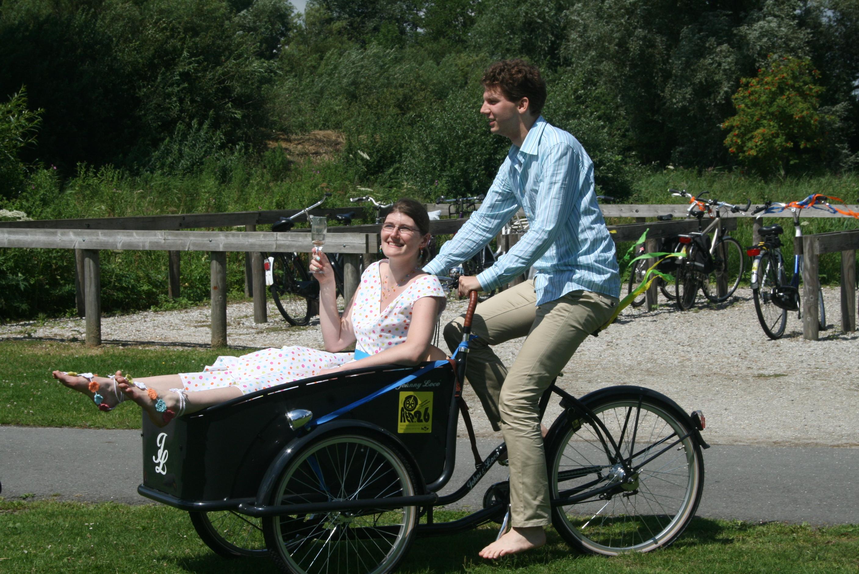 Notre mariage civil aux Pays-Bas : l'après-midi au bord du lac