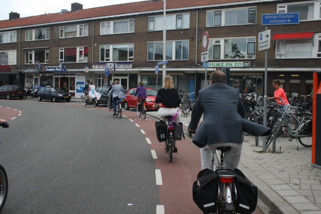cortège de vélos