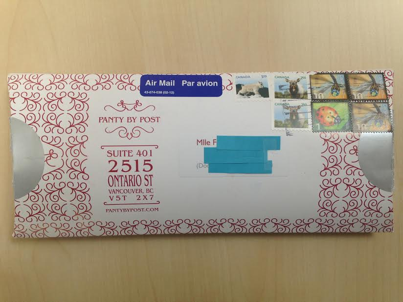 J'ai testé pour toi les box de mariage : Panty by Post – Bridal collection