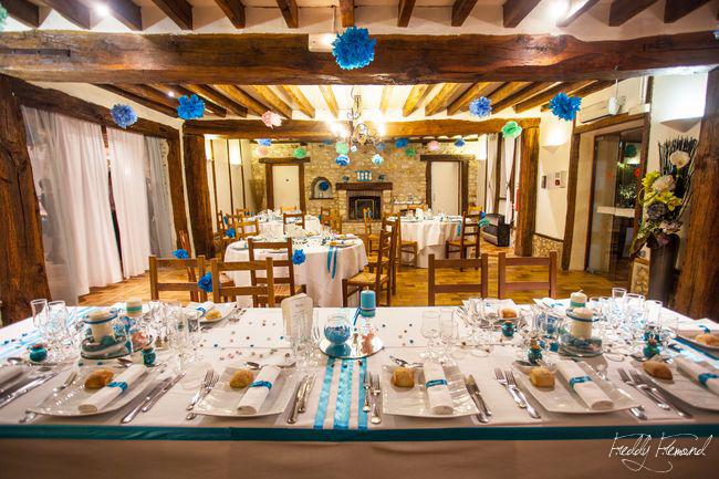 Mon mariage ludique et romantique : la décoration de la salle du repas – Partie 2