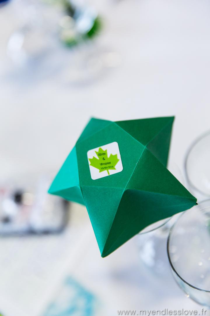 Recette et tutoriel de mes cadeaux d'invités : des sablés fait maison et leurs contenants en forme d'étoile