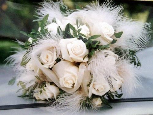 Bouquet d'hiver roses