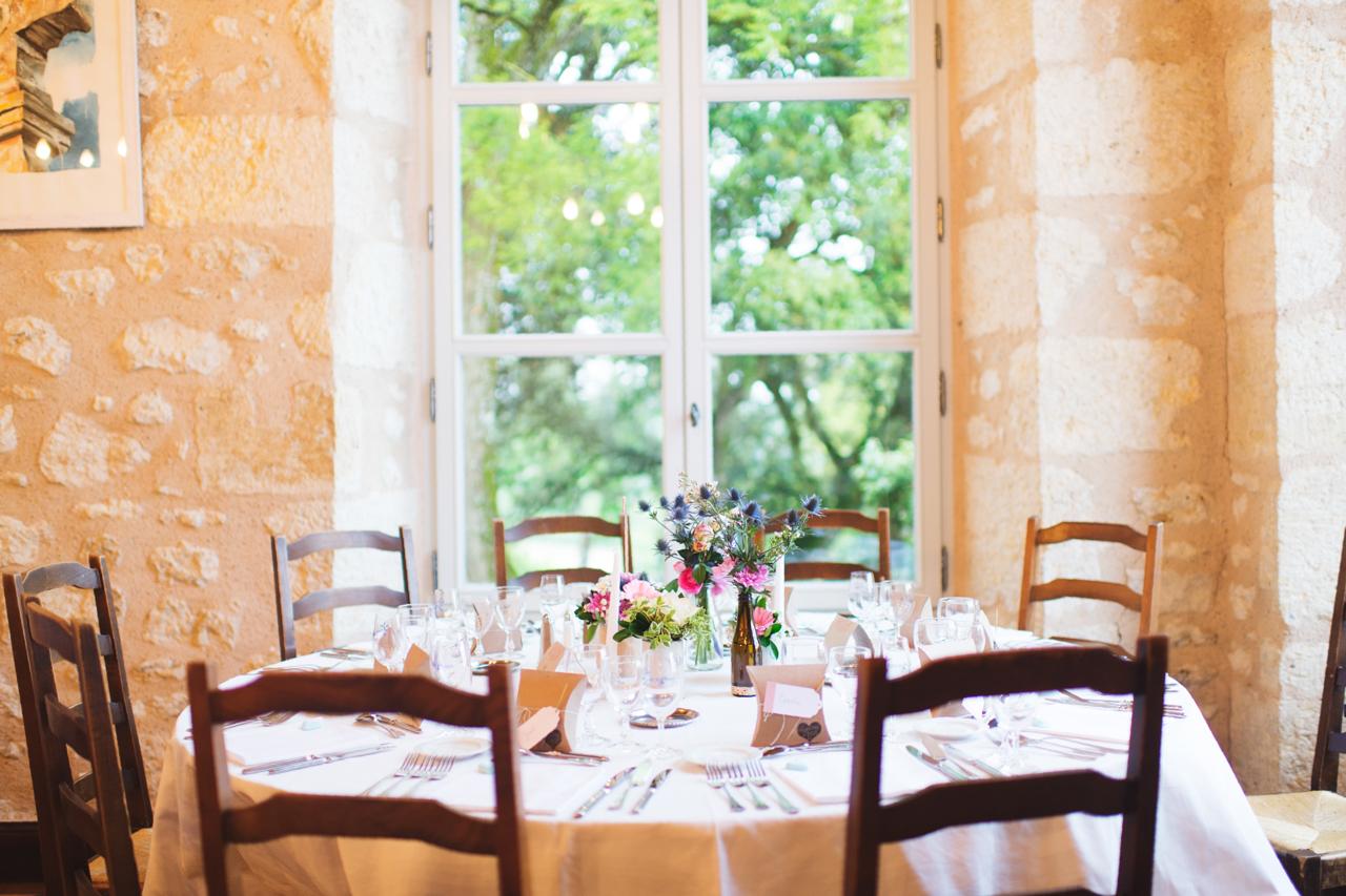 Mon mariage champêtre et botanique : la décoration de notre journée