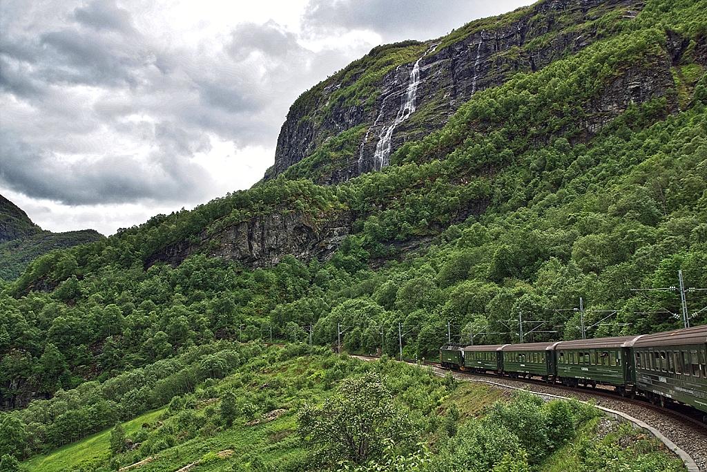 Norway in a Nutshell train Flåm Railway
