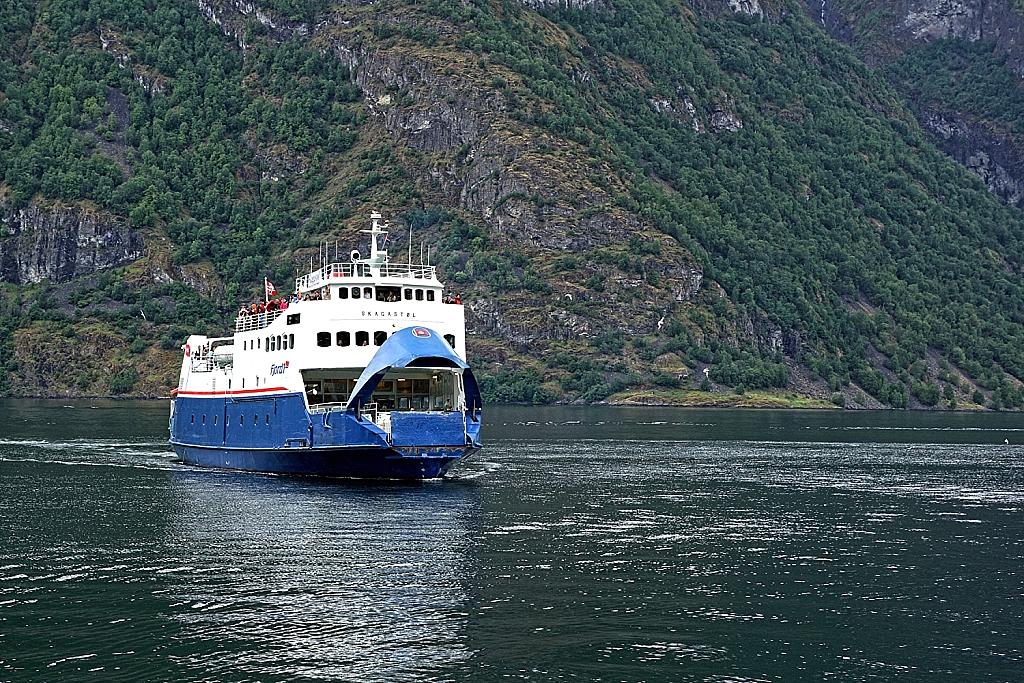 ouverture du ferry