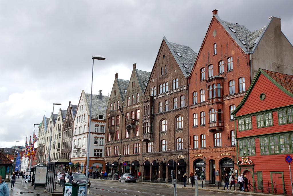 quartier Bryggen à Bergen