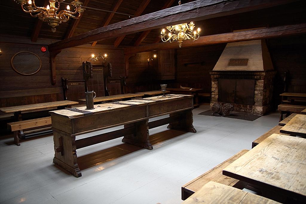 salle commune de la Hanse à Bergen