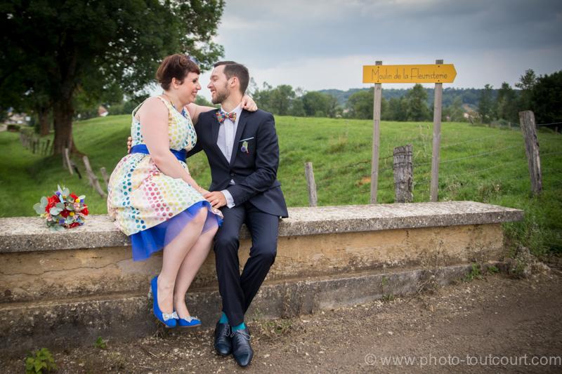 Mon mariage coloré avec le sourire : notre séance couple