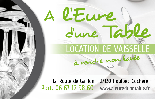 A l'Eure d'une table