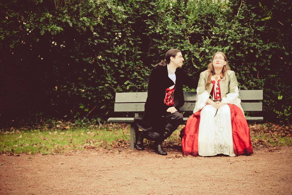 photo de couple mariage médiéval inquiétude rencontre