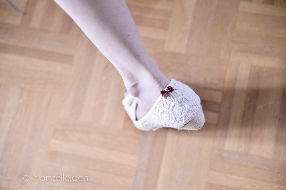 petits noeuds sur chaussures