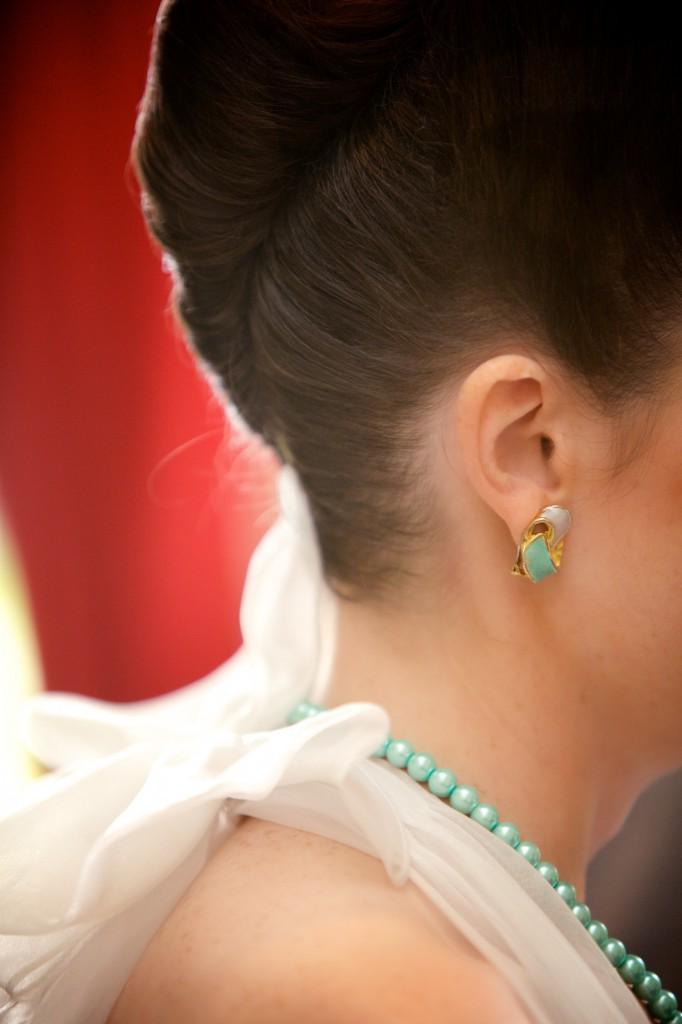 Mes accessoires vert menthe (EDGN photo)