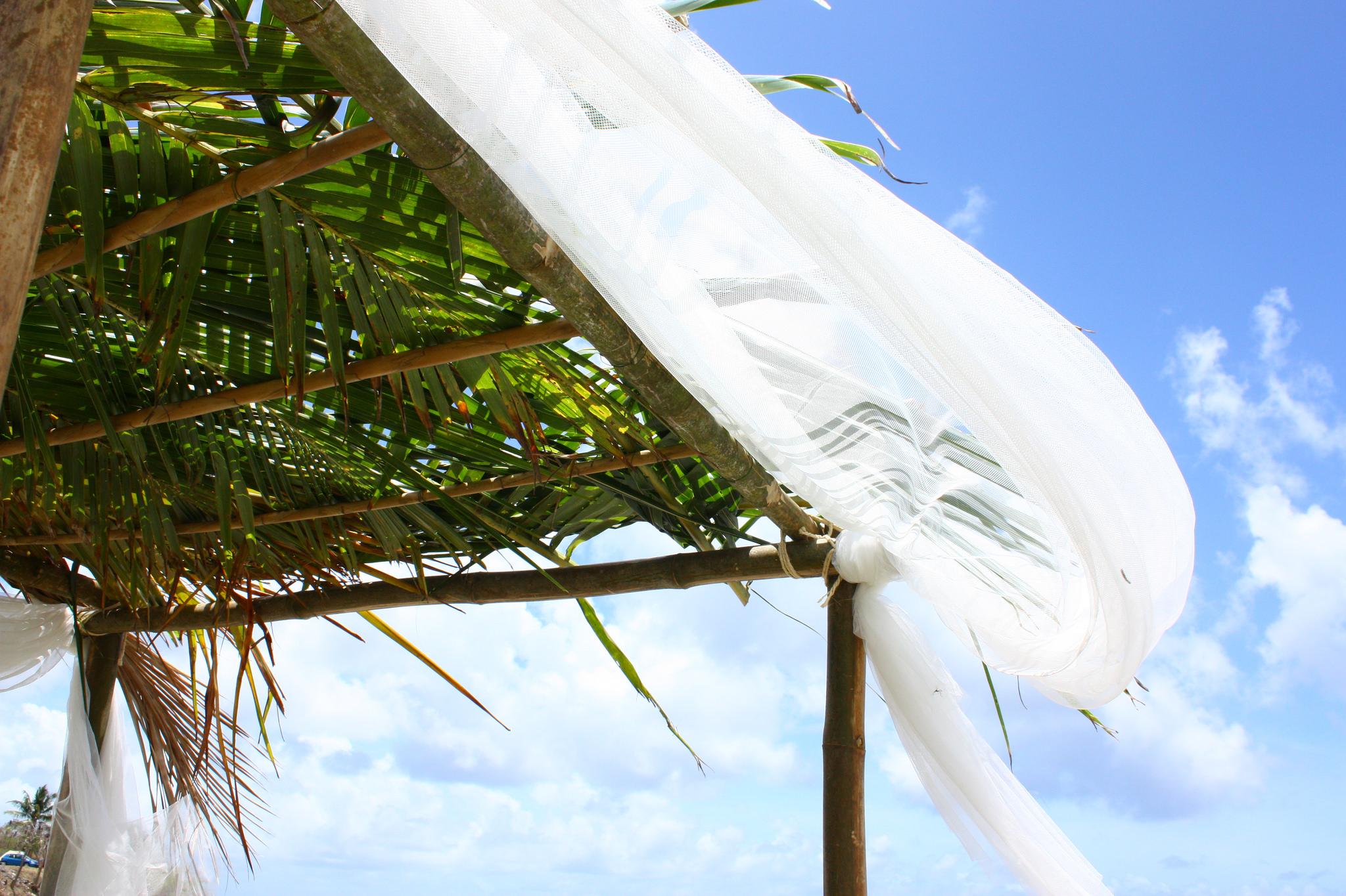 Un mariage martiniquais en bord de mer