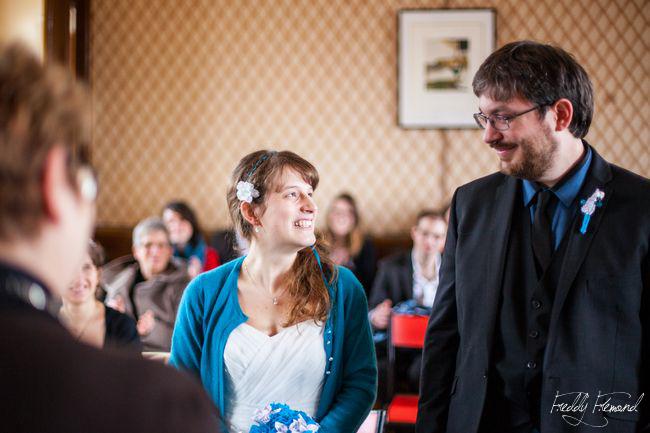 Mon mariage ludique et romantique : la cérémonie civile