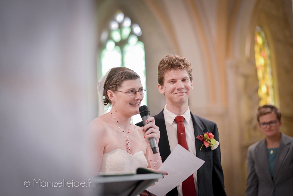 mot de bienvenue des mariés