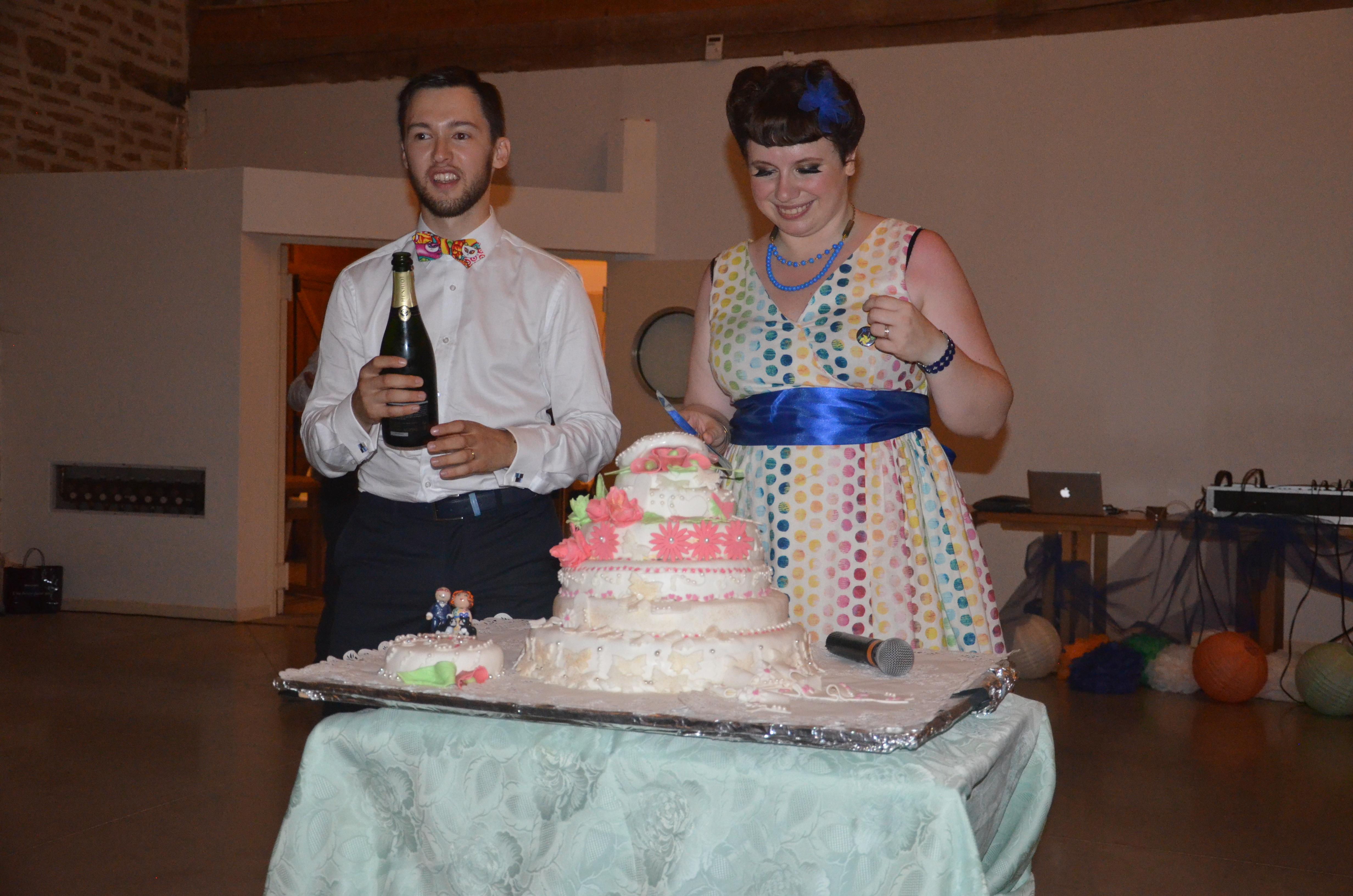 Mon mariage coloré avec le sourire : la soirée