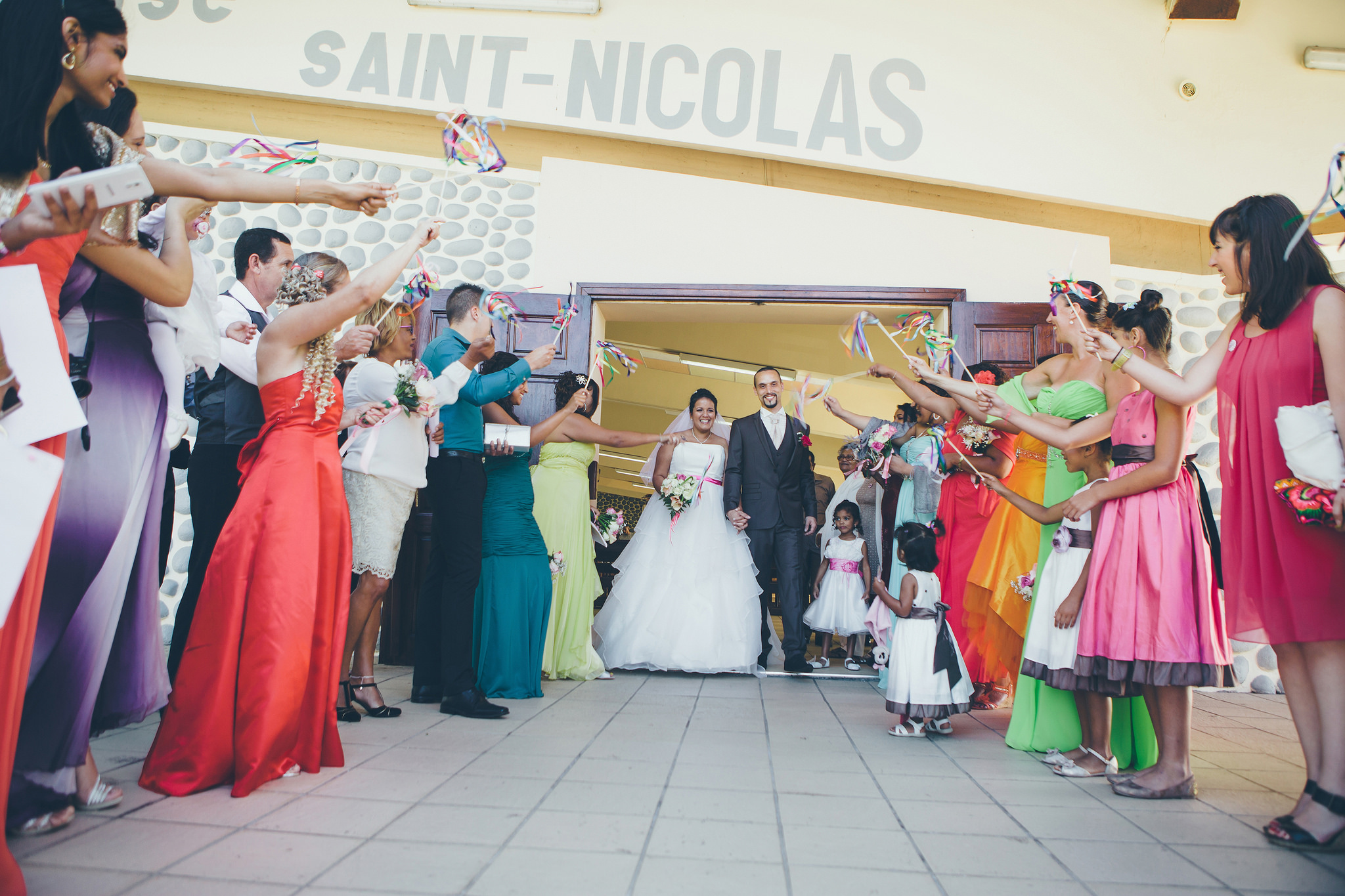 Le mariage gourmand et multicolore de Mimi