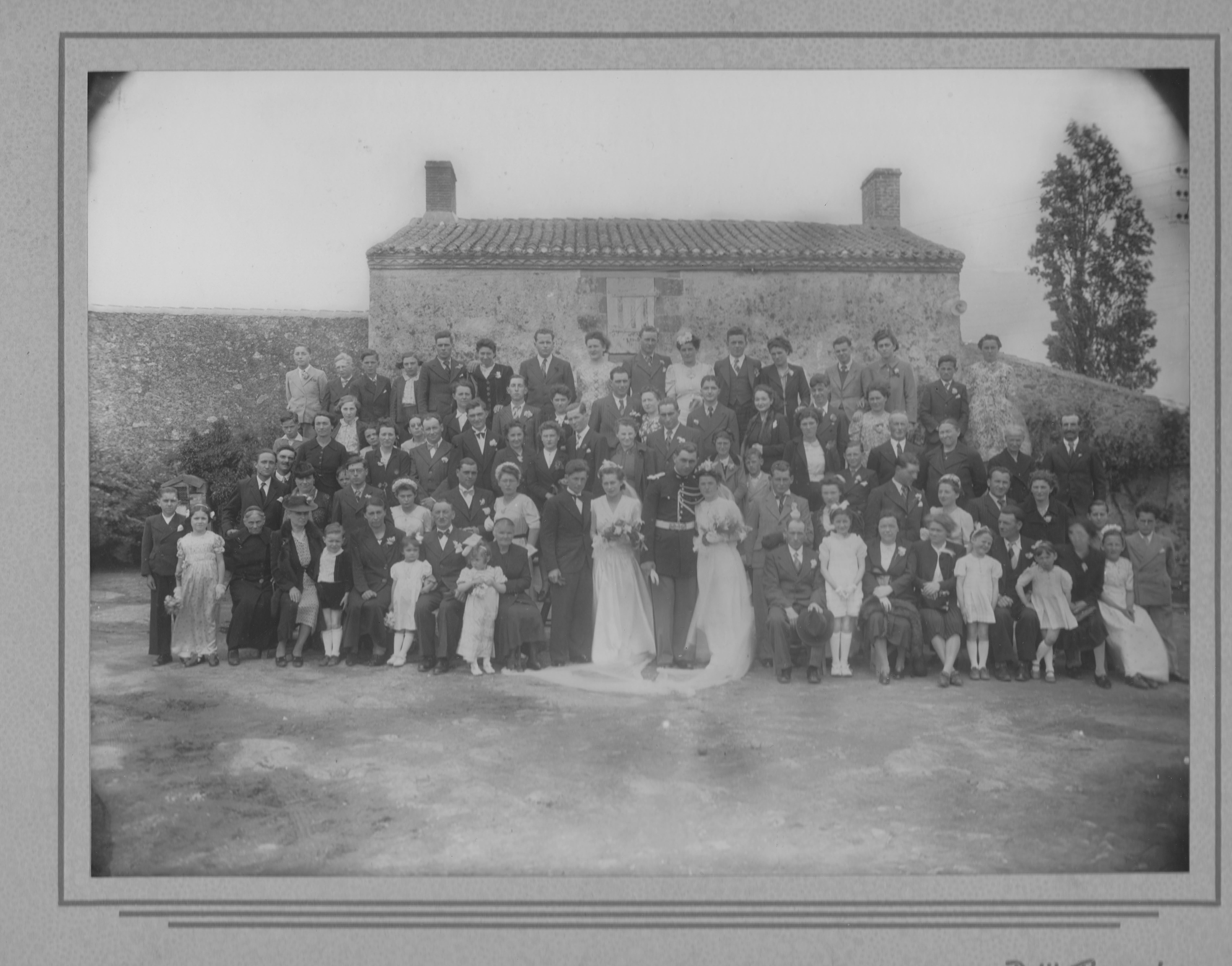 Voyage dans le temps : un mariage en 1942