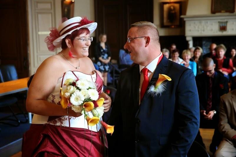 Le mariage tout en rondeurs et en douceurs d'Elizabeth