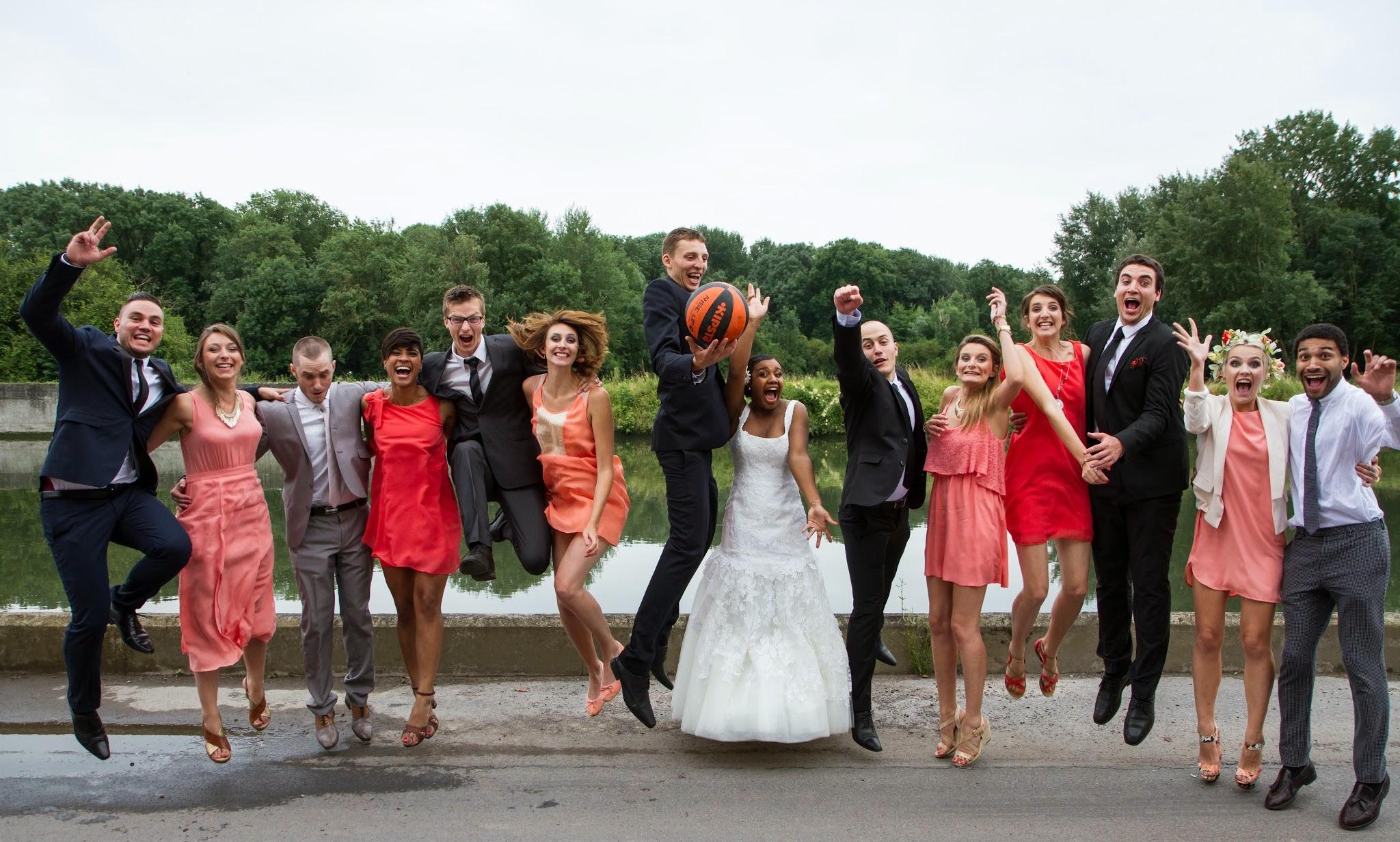 Le mariage sur le thème love & basketball de Mélissa