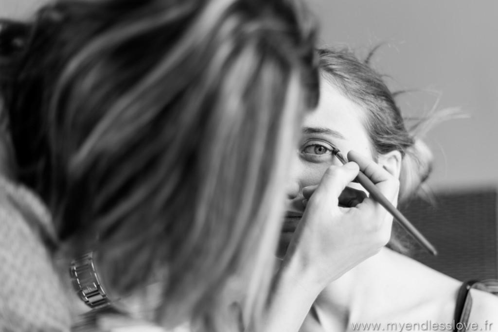 La mise en beauté du jour avec le maquillage // Photo : My Endless Love Photography