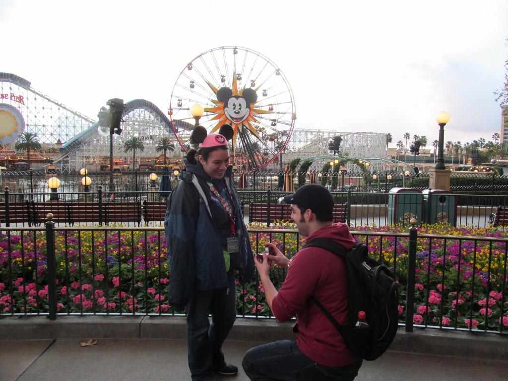 demande en mariage Disney