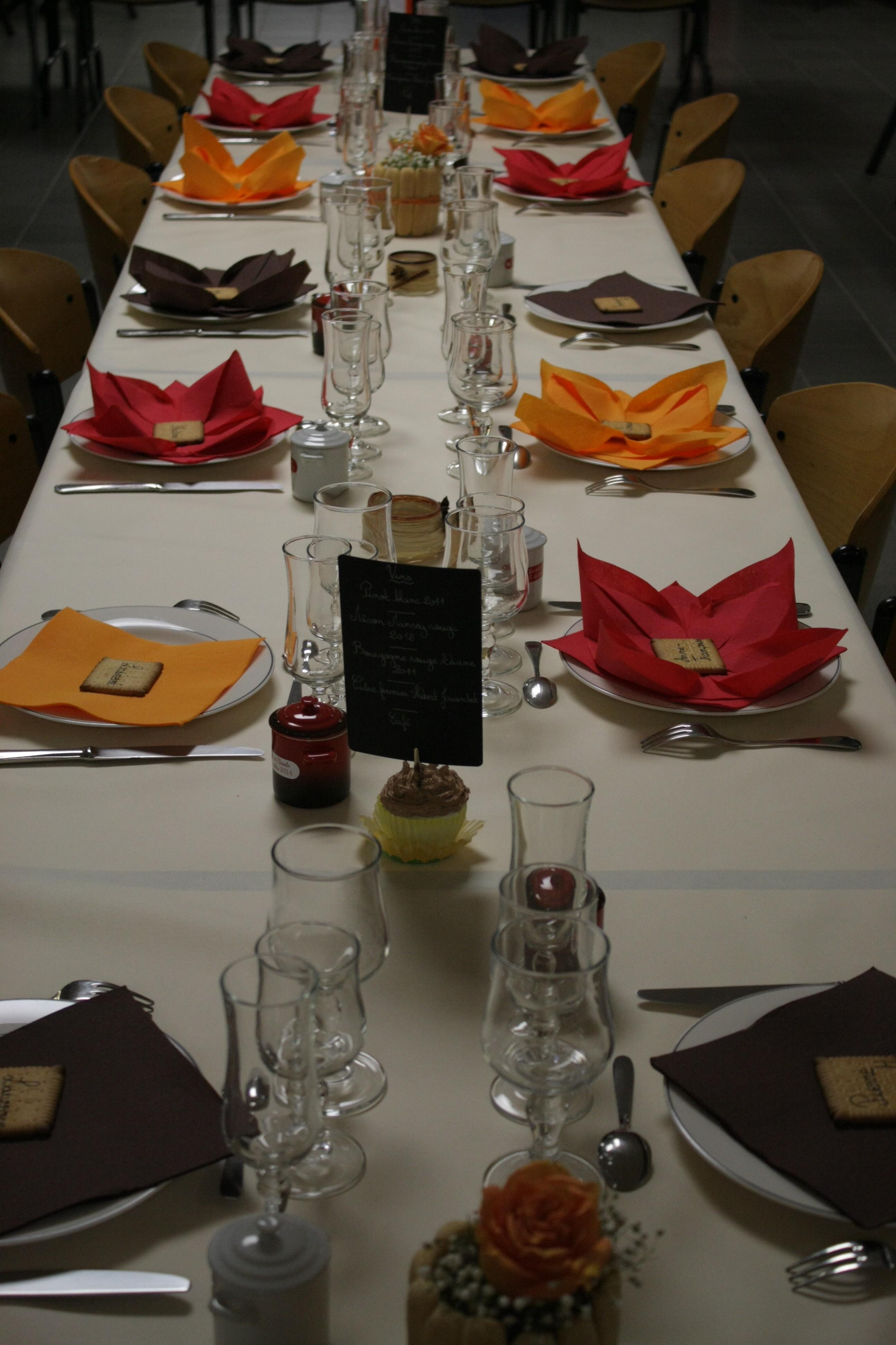 Mon mariage gourmand en hiver : la décoration des lieux la veille du D-Day – Partie 2