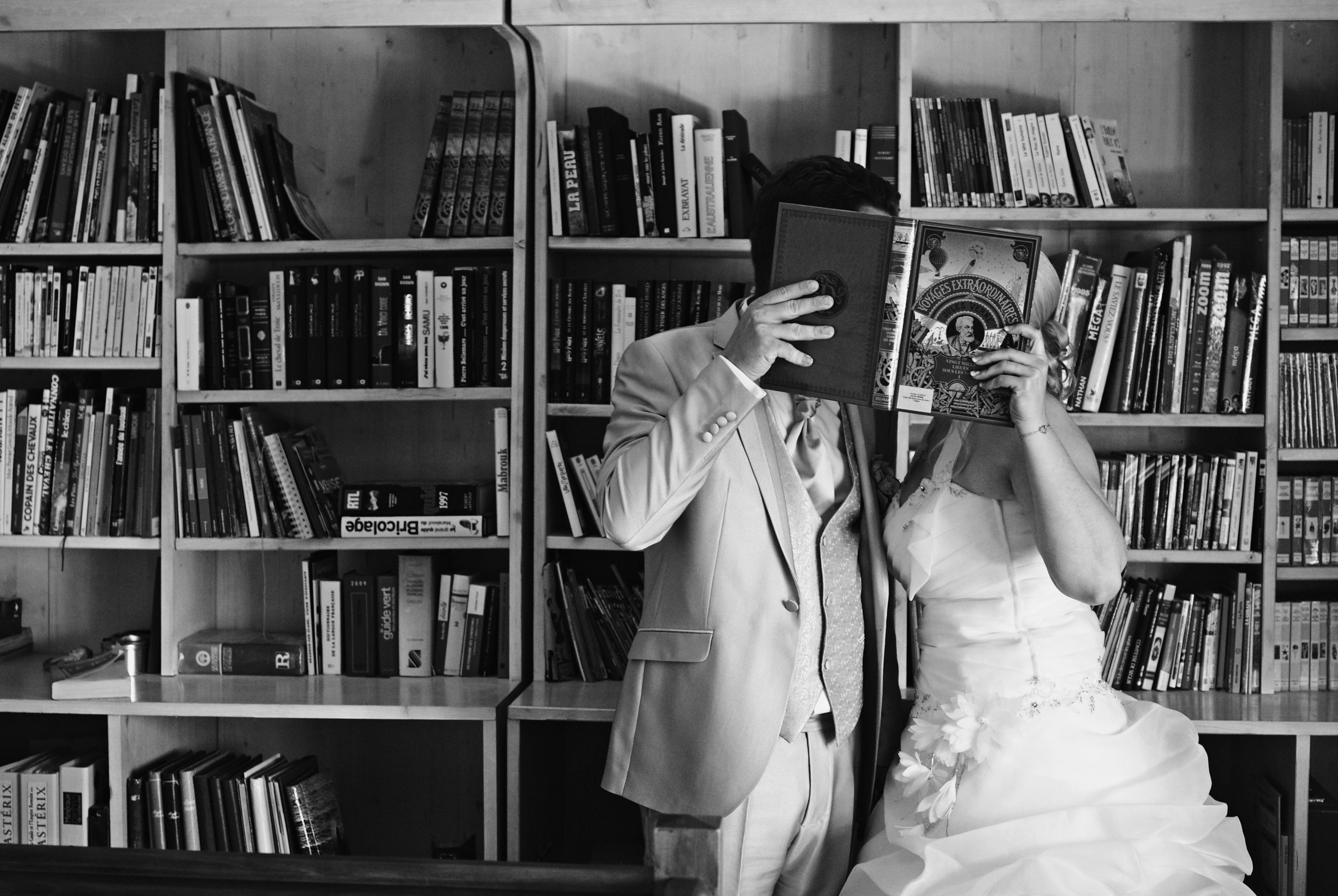Le mariage chic et champêtre, en vert et blanc, de Christine