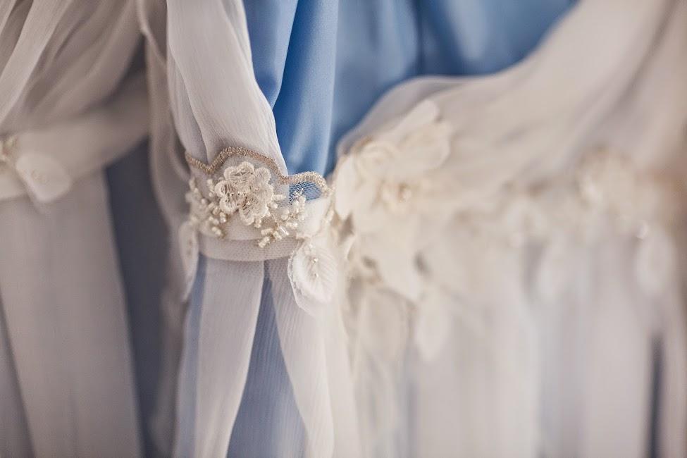 Détail robe de mariée dentelle