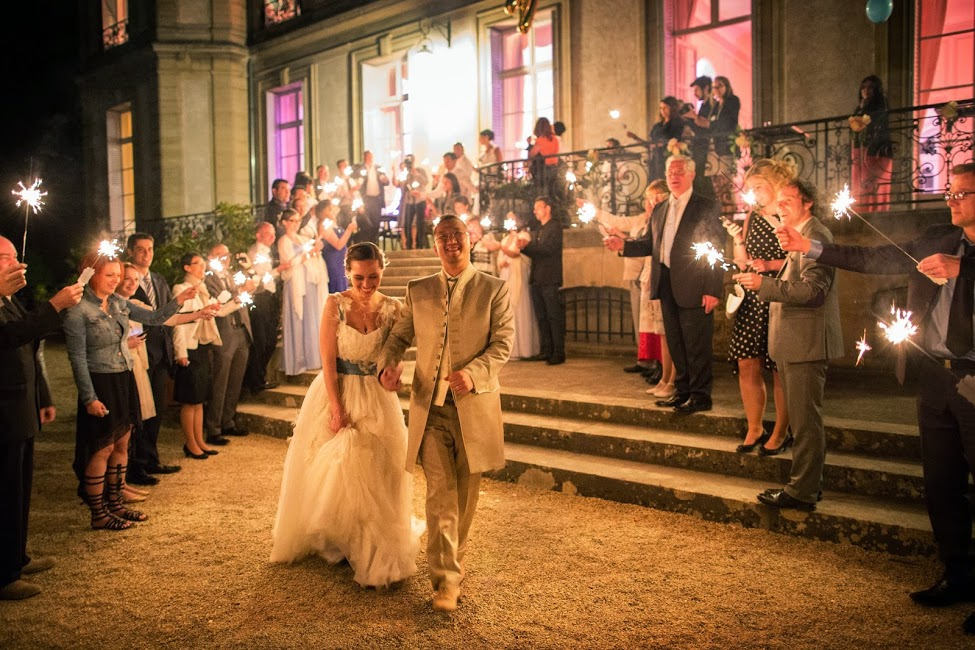 Le mariage romantique de Natacha sur le thème de la photographie