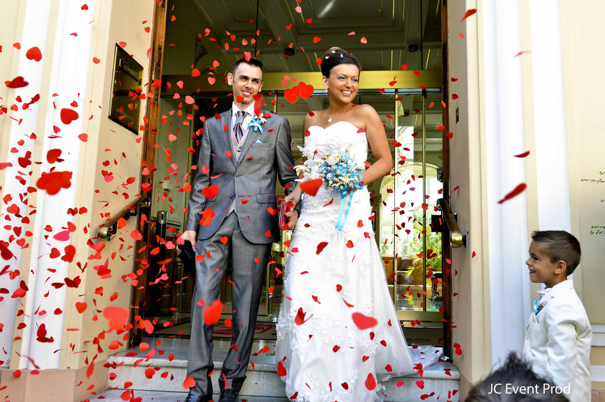 Le joli mariage sponsorisé et franco-russe de Lalita à Monaco