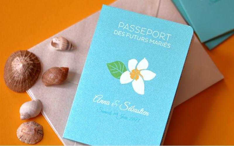 Des passeports en guise de faire-part