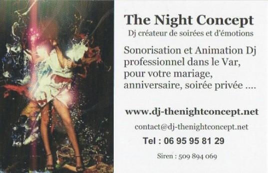 The Night Concept animation DJ