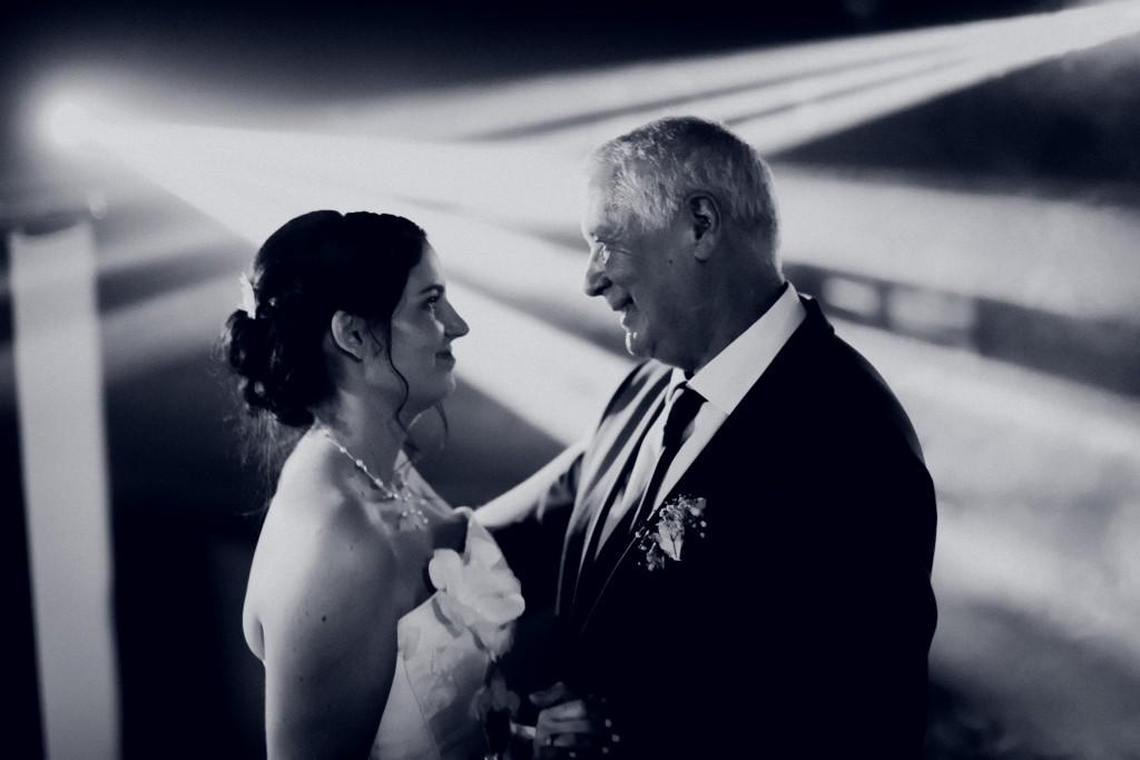 L'ouverture de bal avec mon Papa