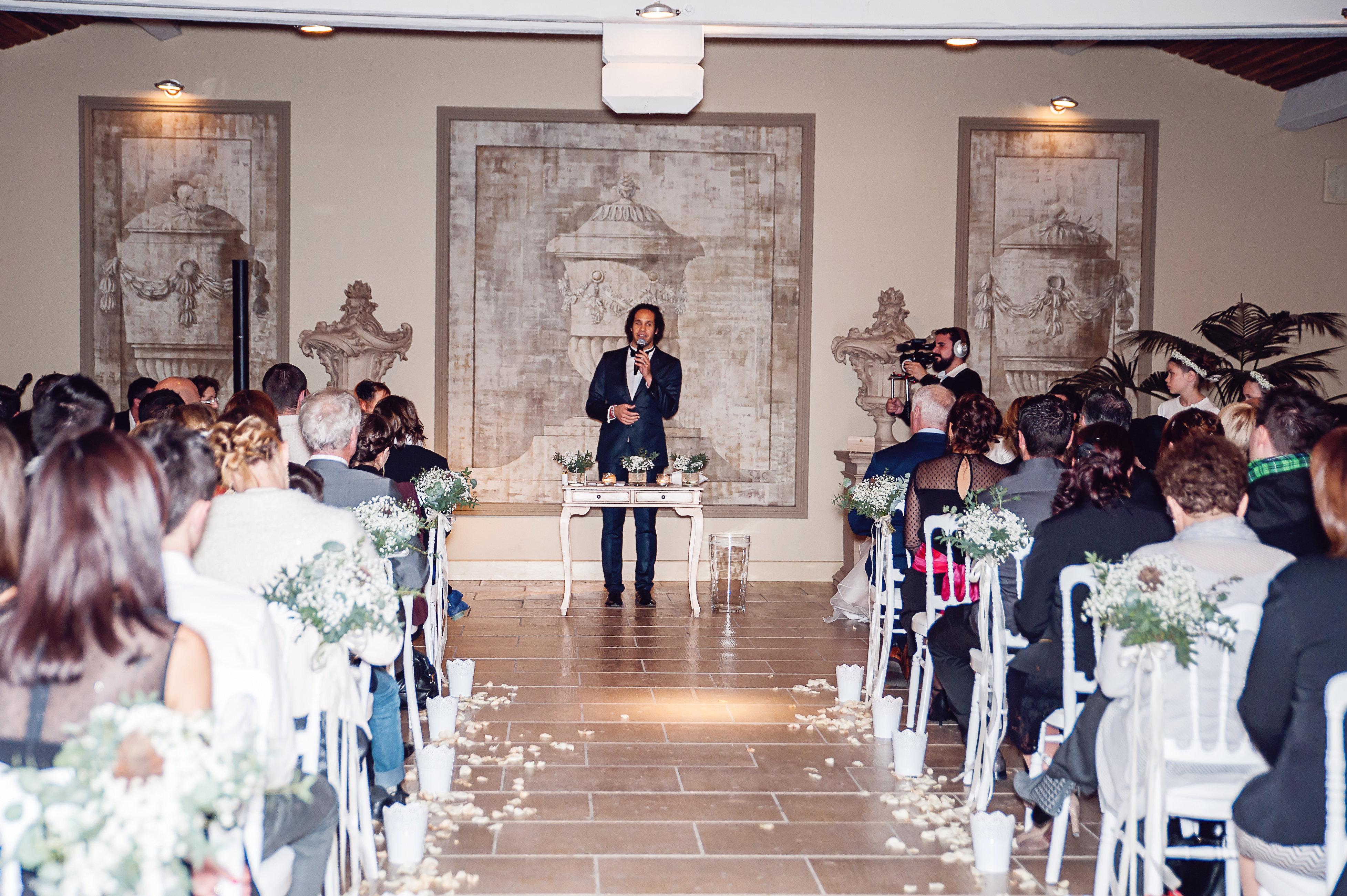 Mon mariage hivernal en Provence : la cérémonie d'engagement