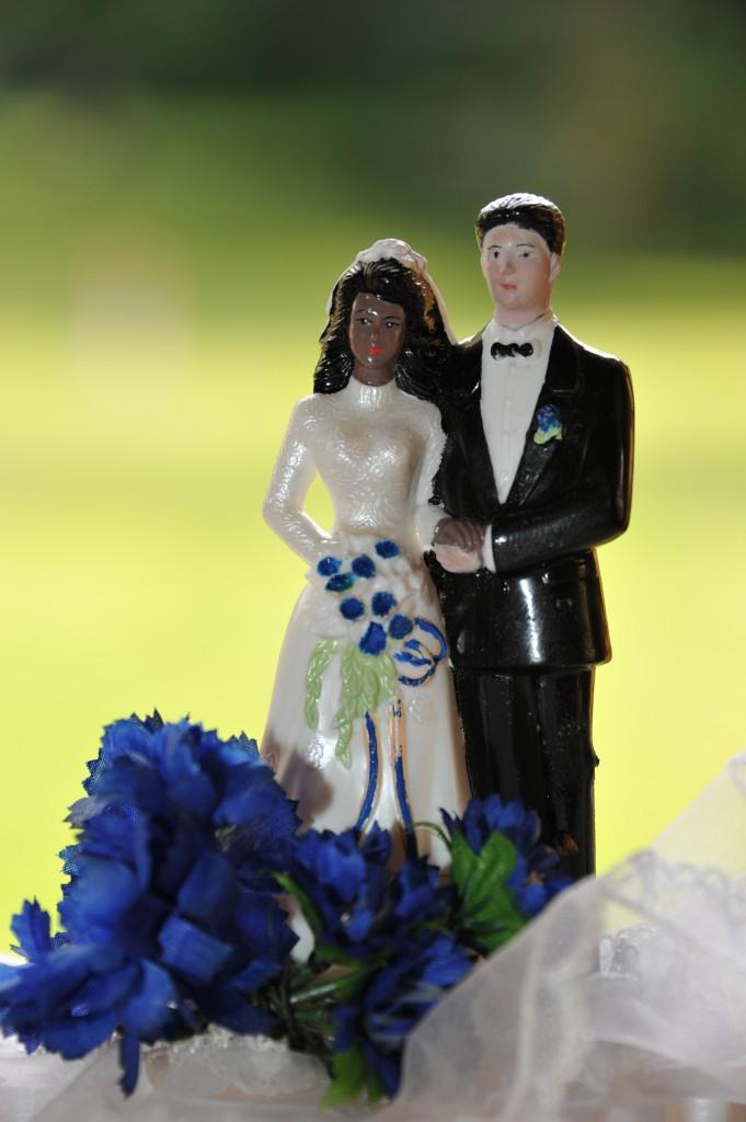 Le cake-topper des mariés