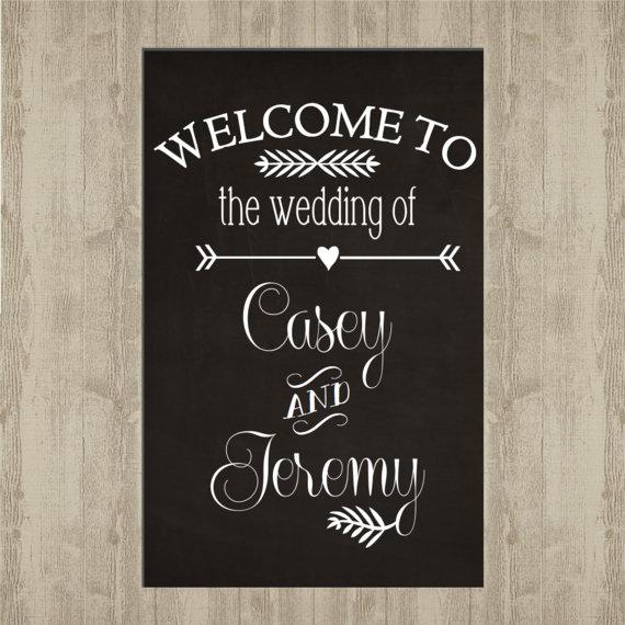 Pancarte de bienvenue