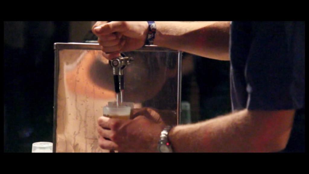 mariage tireuse à bière