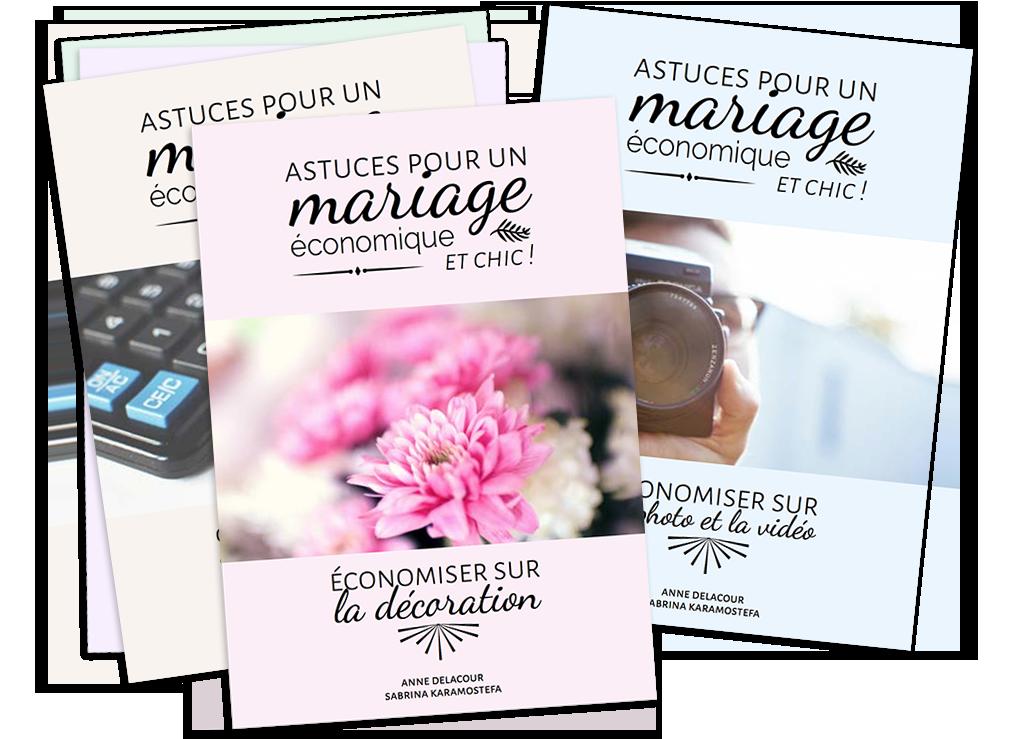 Astuces économiser budget mariage