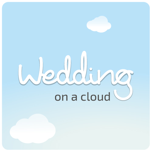 Wedding on a cloud
