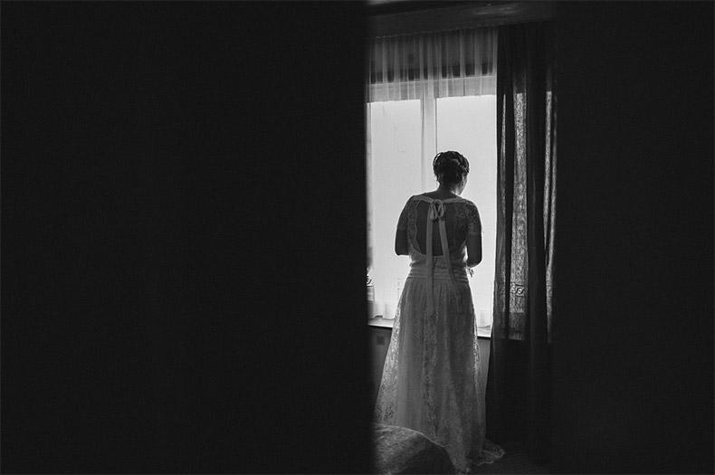 La mariée attend...