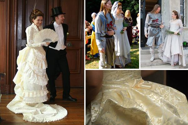 Création robes de mariée sur mesure par Temps d'Elégance
