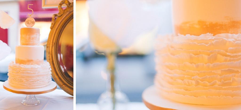 wedding cake 5ansDentelle photo Fleur de Sucre