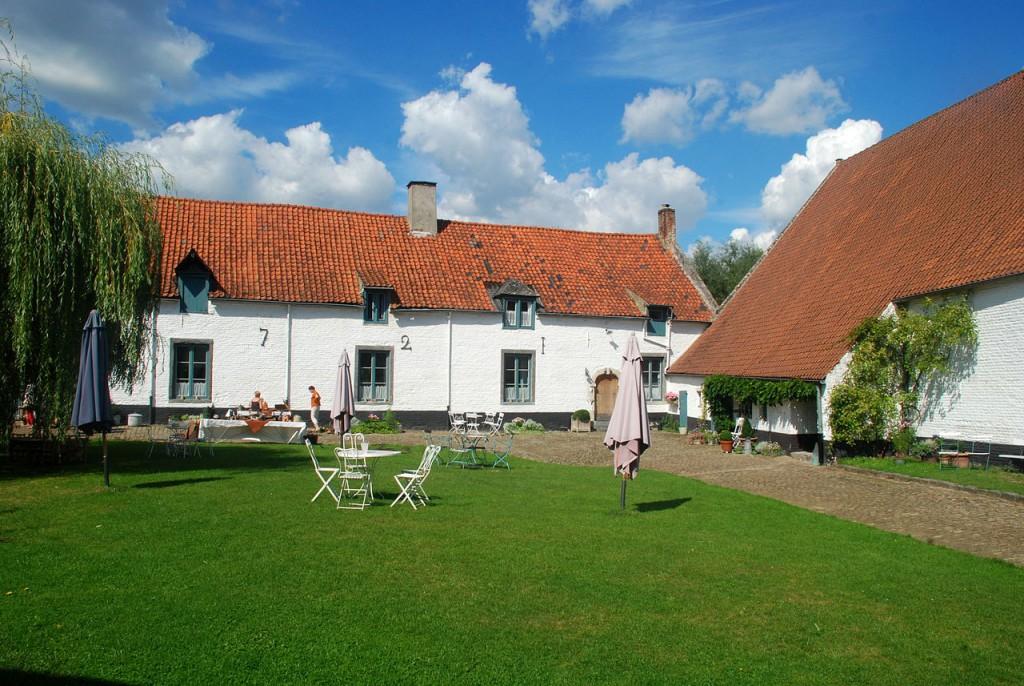 Notre top 3 des salles de réception en Wallonie : l'extérieur de la Ferme de Beaurieux