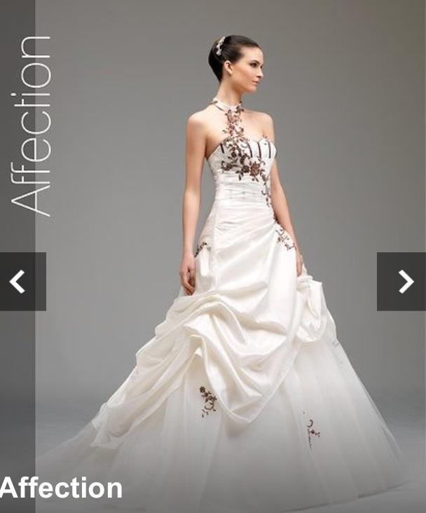 Mes essayages de robe plus d'un an à l'avance : modèle Affection