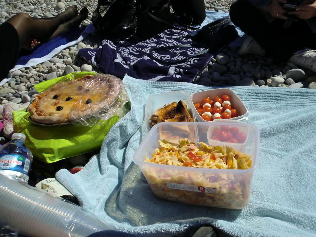 Pique-nique sur la plage pour mon EVJF !